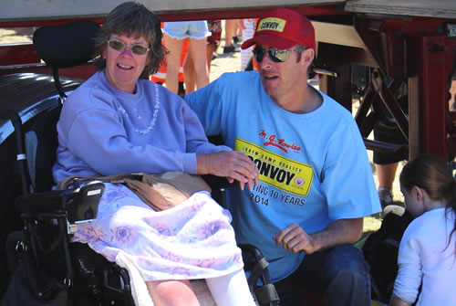 Derek McMahon Convoy for Kids 2014